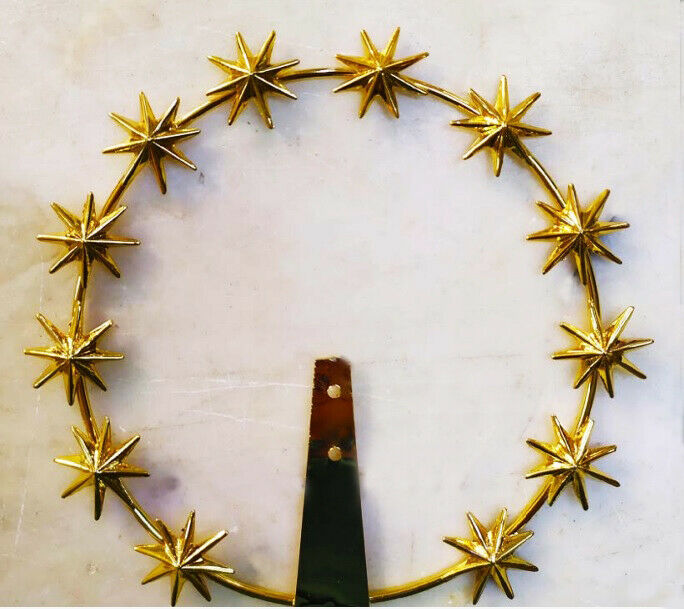 Halo Stellario Brass Golden High Quality With Stars To 8 Bits