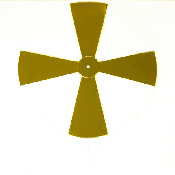 Greek CROSS For Application Brass Golden High Quality