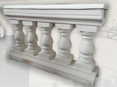 Set N 12 Capri Balustrades With Travelling case Compon H Cm 63 X1200x23 Total Mt 12