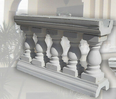 Set 6 N Sectional Balustrade Capri H Cm 60 X600x23 Mt 6