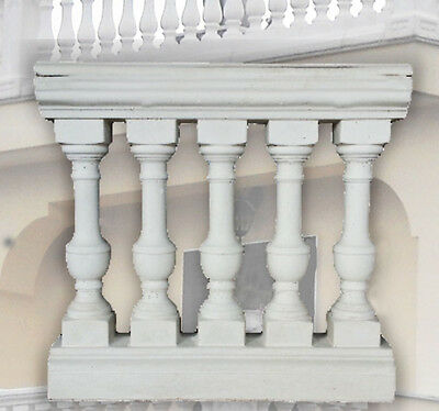 Set N 6 Amalfi Balustrades With Sectional Travelling case Cm 95x600x25 Tot Mt 6