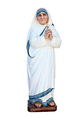Statue Mother Teresa Di Calcutta Cm 40 Resin Resin For Internal Outdoors and